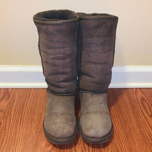 Ugg Classic Tall Chocolate Boots 7
